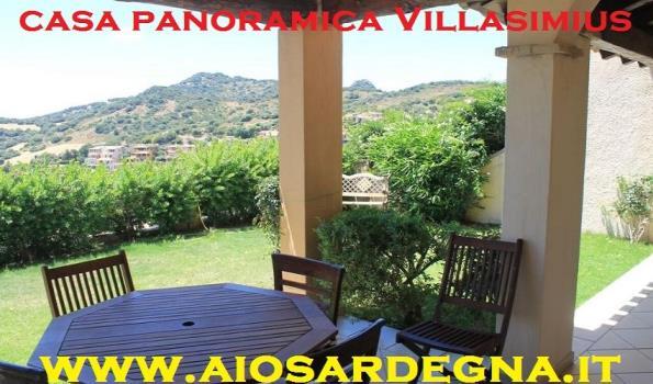 Casa Panoramica Trilo con Giardino Villasimius