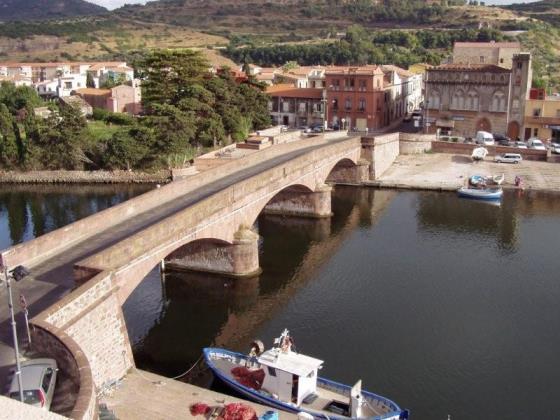 Holiday rental Studio panoramic Bosa Sardinia
