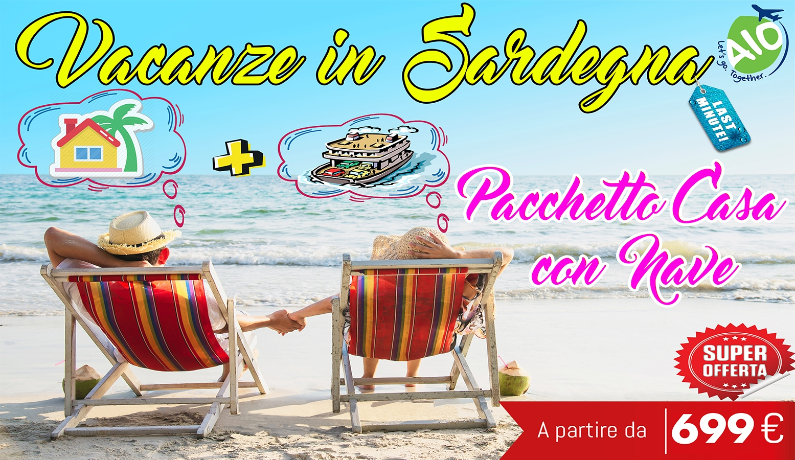 Last Minute Offerte Estate 2019 in Sardegna Casa Vacanza + Nave Low Cost