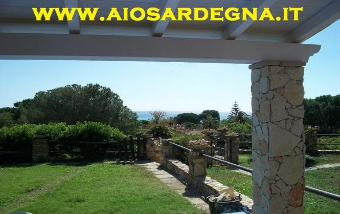 Holiday villas beach sea Costa Rei Sardinia