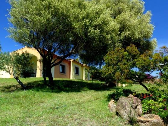 Ferienhaus direkt am meer Budoni residence mit pool-villa-haus-wohnung
